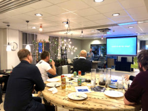 WordPress meetup in Karlstad, Sweden.